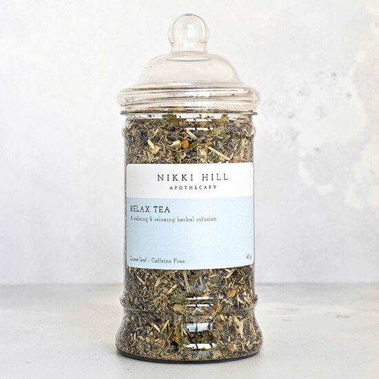 Relax Tea Hand Blended By Nikki Hill